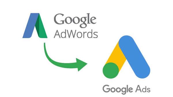 Google AdWords pasa a ser Google Ads